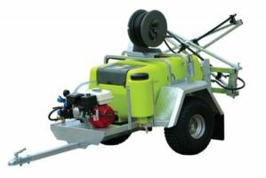TTI TrailPro™ Deluxe 200L - Trailer Sprayer with 4m Boom, 30m Hose Reel
