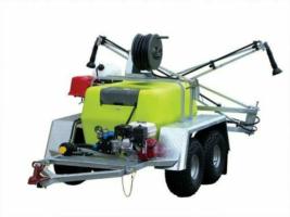 TTI TrailPro™ Deluxe 400L - Trailer Sprayer with 6m Boom, 30m Hose Reel