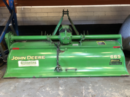 """John Deere 665 - 65"""" Rotary Tiller"""